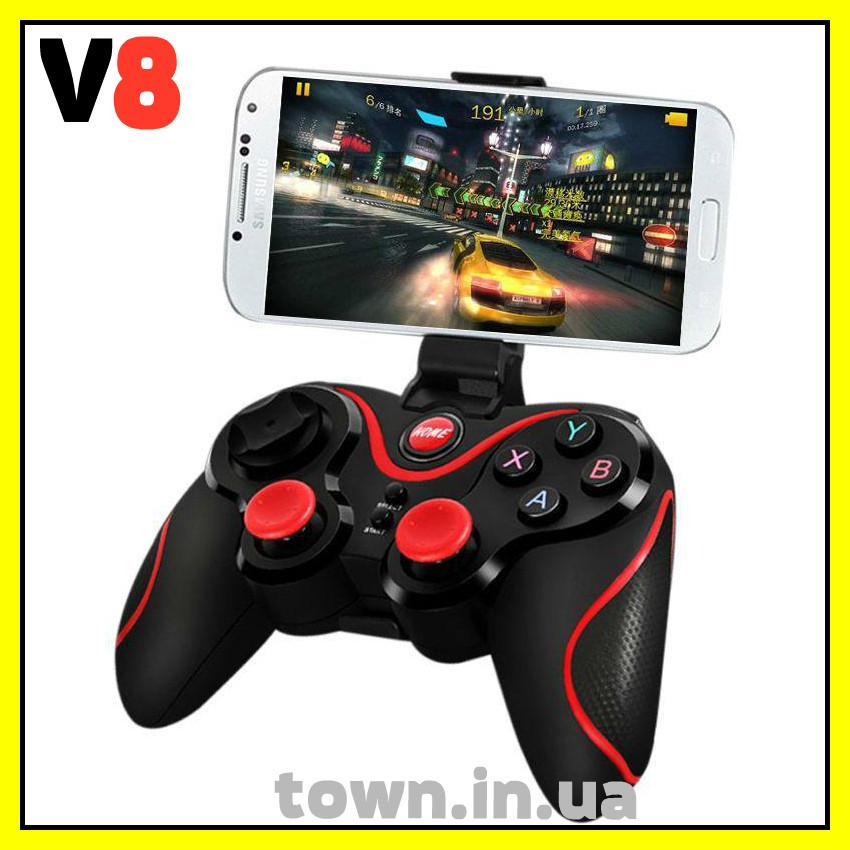 Беспроводной геймпад Bluetooth джойстик V8