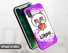 Силиконовый чехол для Apple Iphone 5_5s Likee (Лайк) (4002-3439), фото 3