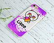 Силиконовый чехол для Apple Iphone 5_5s Likee (Лайк) (4002-3439), фото 5