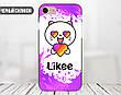 Силиконовый чехол для Apple Iphone 7 plus Likee (Лайк) (4008-3439), фото 2
