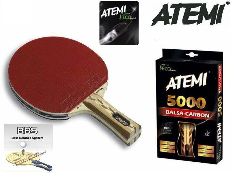 Ракетка для настольного тенниса Atemi 5000 Balsa Carbon