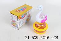 Музыкальная игрушка лебедь, музыка, свет, D001-4
