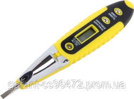 Індикатор-тестер e.tool.test10 130х3 прямий шліц АС/DC12-250В