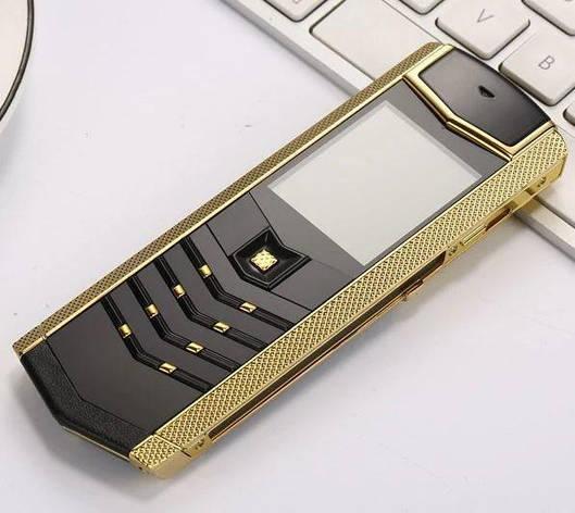 H-Mobile V1 (Hope V1) black-silver. Vertu design, фото 2