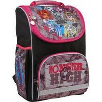 Школьный ранец каркасный Kite Monster High 701