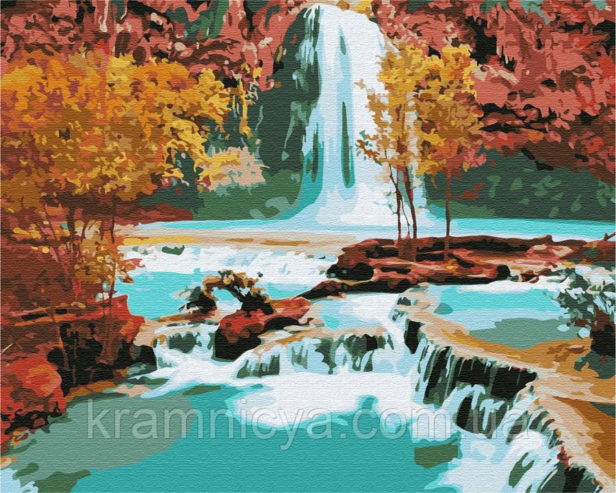 Картина по номерам Brushme Водопад, 40х50 (GX7253)
