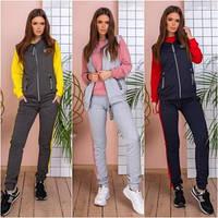 Костюм спортивний жіночий трійка (s-l) мод 934