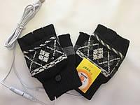 Перчатки с двойным подогревом USB мужские, фото 1