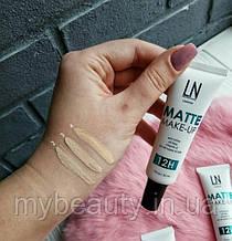 Матирующий тональный крем LN Professional 12H Matt Make-Up