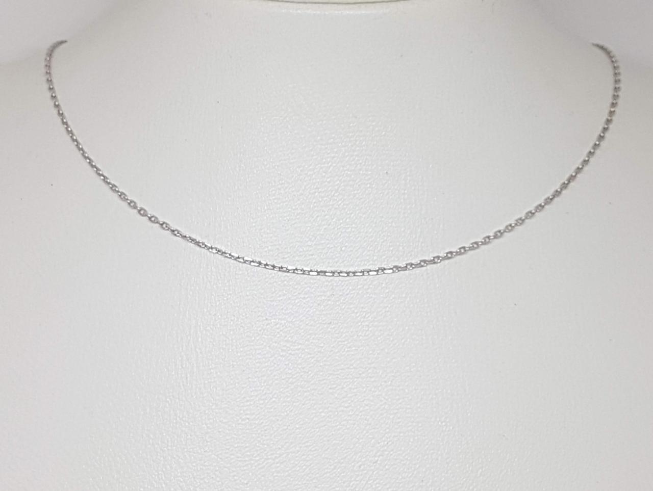 Срібний ланцюжок (Якірне). Артикул 095669 40