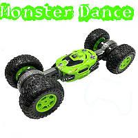 Машинка перевертыш на радиоуправлении Dance Monster. Машинка трансформер вездеход  Dance Monster.