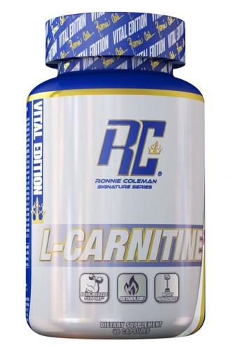 Ronnie Coleman L-Carnitine XS 60 caps. Карнітин жіросжігателя