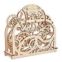 Механічні 3-D пазли UGEARS дерев'яний конструктор Театр / Механические 3d пазлы Югирс, модель Театр