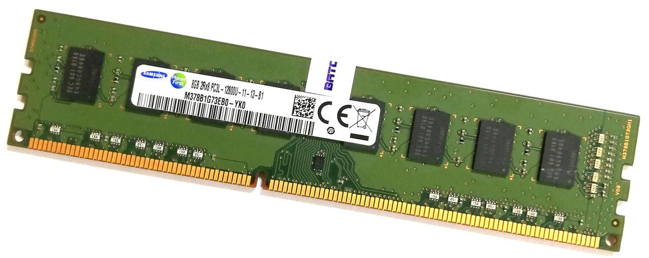 Оперативная память Samsung DDR3L 8Gb 1600MHz PC3L 12800U 2R8 CL11 (M378B1G73EB0-YK0) Б/У