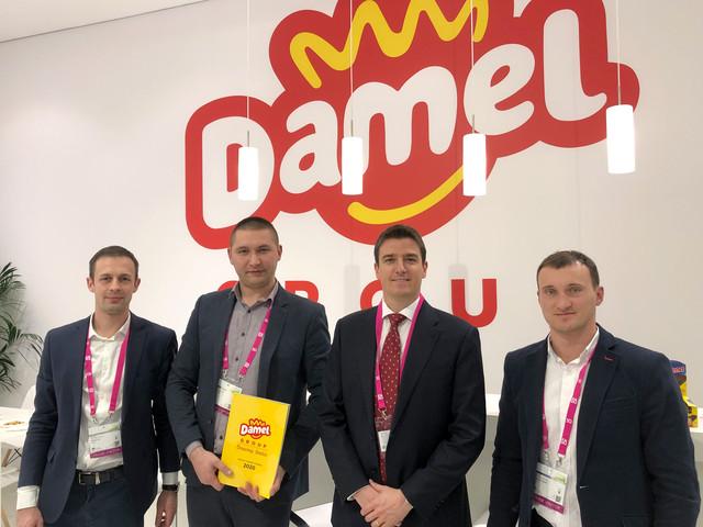 Левітрейд з представниками Damel на  ISM Cologne 2020