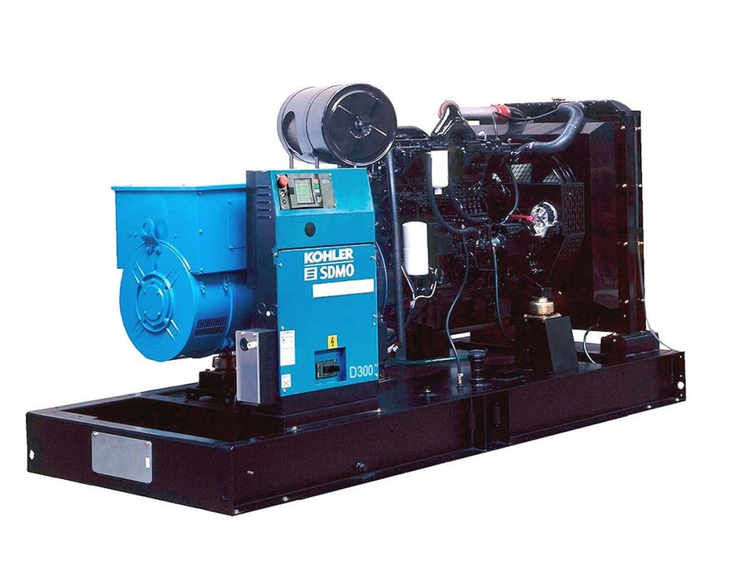 Трехфазный дизельный генератор SDMO D300 (240 кВт)