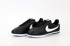 """Кроссовки Nike Cortez """"Черные / Белые"""", фото 3"""