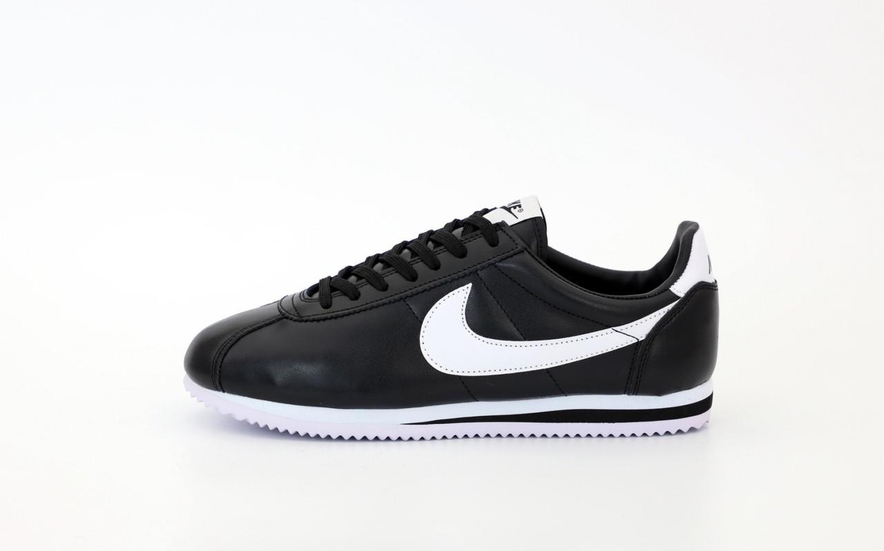 """Кроссовки Nike Cortez """"Черные / Белые"""""""