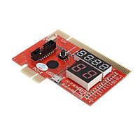 Пост карта для стационарных ПК PCI PCI-E MiniPCI-E LPC EC ABX KQCPET6 V6 3 в 1
