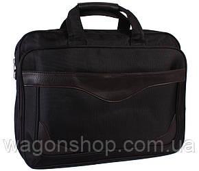 Высококачественная мужская сумка для ноутбука N30819 Черная