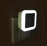 Светодиодный Светильник-ночник  от сети 220 В с датчиком освещенности, фото 6
