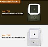 Светодиодный Светильник-ночник  от сети 220 В с датчиком освещенности, фото 7