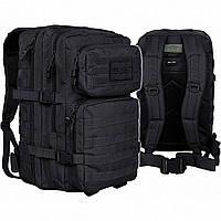 Рюкзак тактический Mil-Tec assault pack черный большой 36л