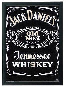 """Постер """"Jack Daniel's"""" гравировка на деревянной основе 30Х40 БЕСПЛАТНАЯ ДОСТАВКА"""