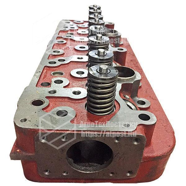 Головка блока двигателя МТЗ Д-240, Д-243 в сборе с клапанами (упаковка дер. ящик) 240-1003012