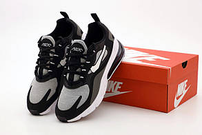 Мужские кроссовки Nike Air Max 270 React черно-серые