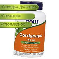 Кордицепс NOW Cordyceps 750 mg 90 капс