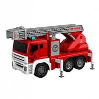 Інерційна пожежна машинка брызгающая водою Wenyi 851A: розмір 31см (світло + звук)