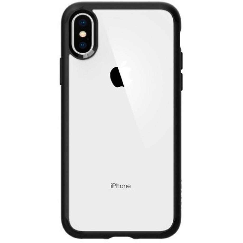 Чехол для моб. телефона Spigen iPhone XS Ultra Hybrid Matte Black (063CS25116)