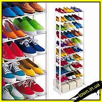 Полка для обуви на 20 пар, органайзер, стеллаж Amazing Shoe Rack, фото 1