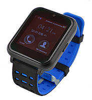 Умные часы UWatch Z2 со съемным ремешком Blue
