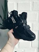 Кросівки жіночі чорні,  кросівки чорні жіночі, кросівки на платформі, кроссовки женские белые