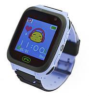 Детские умные часы с GPS UWatch F3 с фонариком и камерой голубые