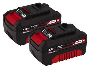 Аккумулятор Einhell Power-X-Change Twinpack 4.0 Ah 18V(БЕСПЛАТНАЯ ДОСТАВКА)