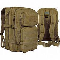 Рюкзак тактический Mil-Tec assault pack койот большой 36л
