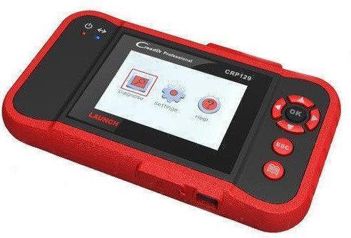 Автономный автосканер Creader VIII 8 CRP129 OBD2 Красный
