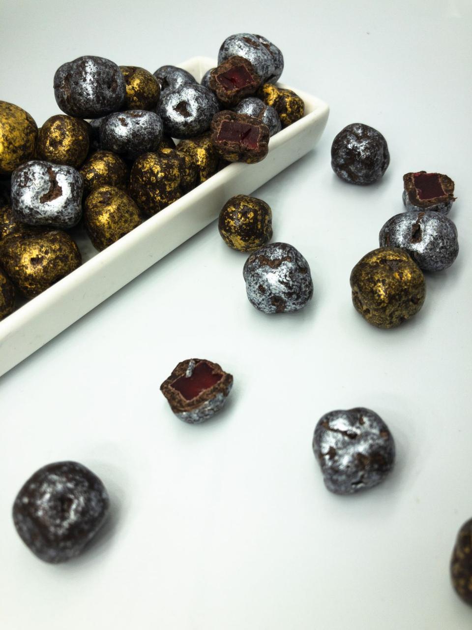 Шоколадные  M&MS камушки с шоколадным рахат лукум весовые 1кг