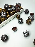 Шоколадные  M&MS камушки с шоколадным рахат лукум весовые 200 грамм