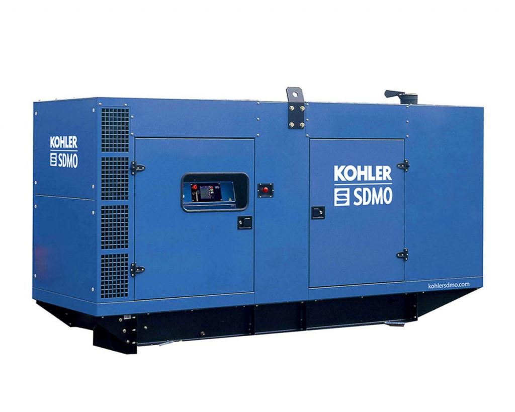 Трехфазный дизельный генератор SDMO D300 (240 кВт) с автоматическим запуском