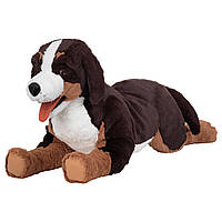 ХОППИГ Мягкая игрушка, собака, 60441213, ИКЕА, IKEA, HOPPIG