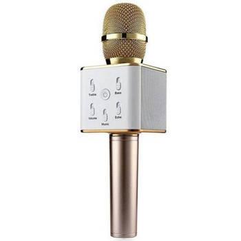 Беспроводной микрофон караоке Q7 Gold