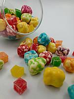 Шоколадно - йогуртовые  M&MS камушки с рахат лукум весовые 200 грамм