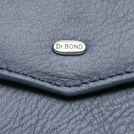 Кошелек Classic кожа DR. BOND WS-3 blue, фото 2