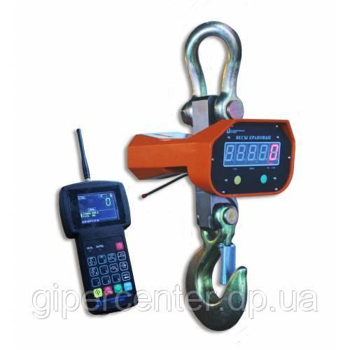 Крановые весы ВК-ИК/РК с пультом (10 тонн) с радиоканалом
