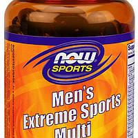 Витамины для мужчин NOW_Men's Extreme Sports Multi - 90 софт кап