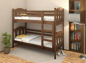 Двухъярусная кровать трансформер Сонька из массива бука. ТМ Дримка